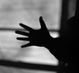 Hand Shadow B&W