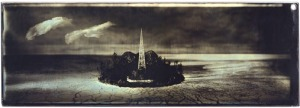 Sean Culver, Panoramic Series: Island, Gilded Mercurial Daguerreotype. Comes with a copy of Issue #4.