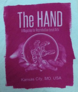 Get your hand-printed Hand Magazine t-shirt!