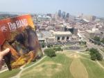 Kansas City, MO. Looking west from atop the Liberty Memorial.