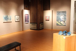 "Installation view of ""Do You Copy?"", a Hand Magazine- curated exhibition at Missouri Western State University."