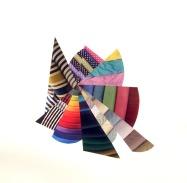 "Laura Berman, Nova 1, Offset print collage, 12""x 12"" http://www.laurabermanprojects.com"