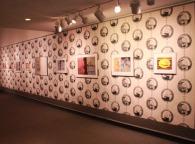 Elizabeth Klimek, Hillwood Patch, Wallpaper (installation dimensions vary) http://elizabethklimek.com