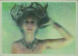 "Wayne Montecalvo, Dissolve, Four-color serigraph with wax, 15""x 20"" http://waynemontecalvo.com"