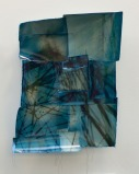 "Michelle Robinson, Green Tower, Toned silver gelatin prints and thread, 20""x 16"" http://michellerobinson.neon.org"