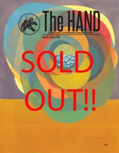 Issue #10 cover SOLD OUT