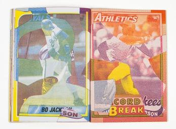 Noah Breuer, Team Set (Artist Book), Risograph with leatherette and foil stamping. http://noahbreuer.com