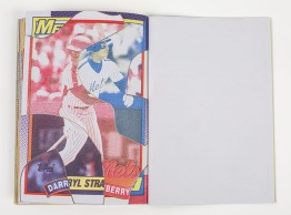 Noah Breuer, Team Set (Artist Book), Risograph with leatherette and foil stamping. http://noahbreuer.com