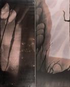 Ross Faircloth, Redrum, Collaged gelatin silver print. http://www.rossfaircloth.com