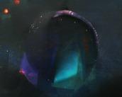 Ross Sonnenberg, colorbang 76, Unique photogram on chromogenic paper. http://rosssonnenberg.com
