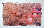 Serena Stevens, More Than A Mouthful, collage. http://www.serenastevensart.com