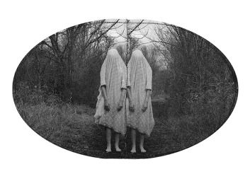 Ashley Whitt, Shrouded in Lace, DASS transfer and string on paper. http://ashleywhitt.com/home.html
