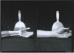 Adam Finkelston, Vane, Silver gelatin contact print